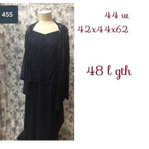 Dresses & Skirts - Plus sz 2 pc Blue Mother/ grandmother bride dress